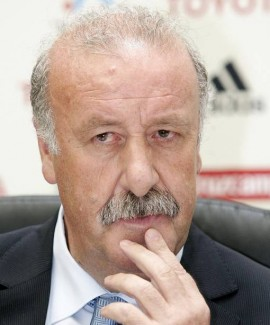 "مدرب منتخب اسبانيا ديل بوسكي :"" لا خيار لي سوى"