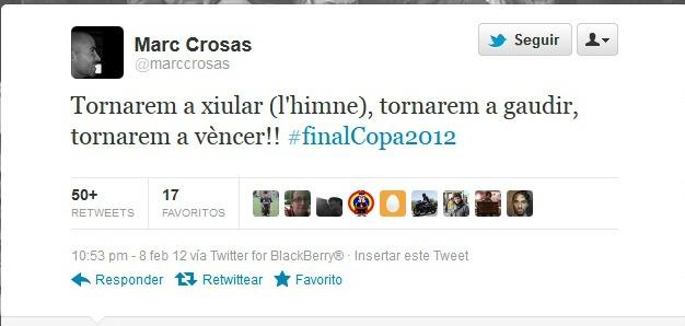 ESTOS SON LOS PUTOS VALORES DE LA MASIA Crosastwitter