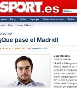 Sport le 'roba' tres Champions al Real Madrid