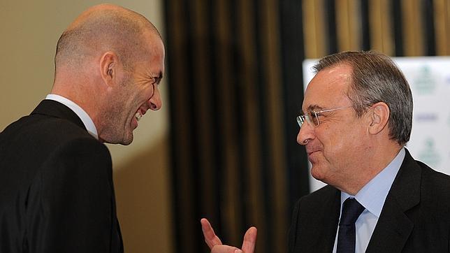 Florentino Pérez pone deberes a Zidane