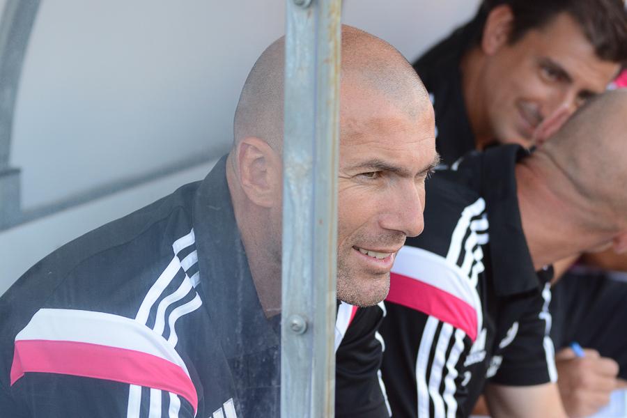 الكاستيا zidane_debut_castill