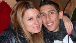 �ngel Di Mar�a y su mujer, Jorgelina Cardoso