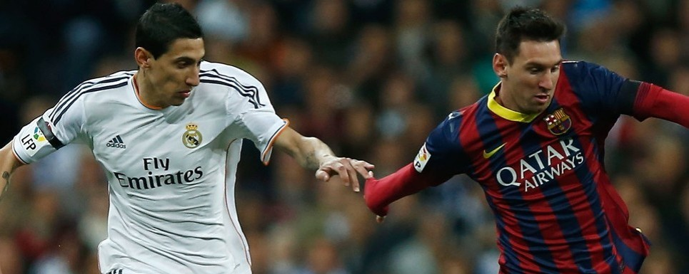 Di María ridiculiza al azulgrana Leo Messi