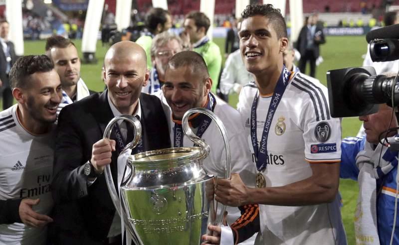 Réal Madrid: Varane explique l'attitude des joueurs quand Zidane parle au vestiaire