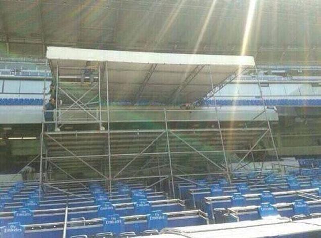 El palco del santiago bernab u preparado para m s - Palco santiago bernabeu ...