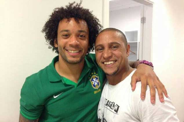 ������ ������ : ������� ���� ���� ���� �� ������ . Roberto_Carlos_Marce
