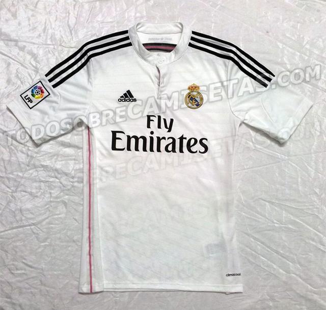 Nueva equipacion 2014-2015 Camisetablanca