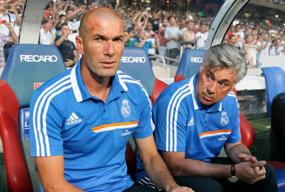 Zinedine Zidane confirms hes staying on as Carlo Ancelottis Number 2 at Real Madrid [Video]