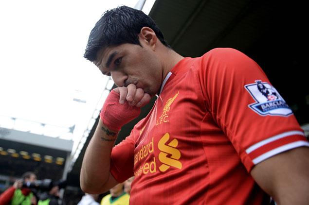 """���� ������ : ������ ������ �� ���� ����� """" ������ ������� """" . Luis_Suarez_Nueva_Be"""