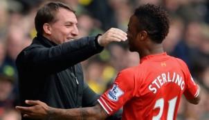 Brendan Rodgers y Sterling