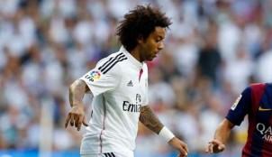 El jugador del Real Madrid Marcelo
