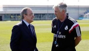 Carlo Ancelotti y Floentino P�rez