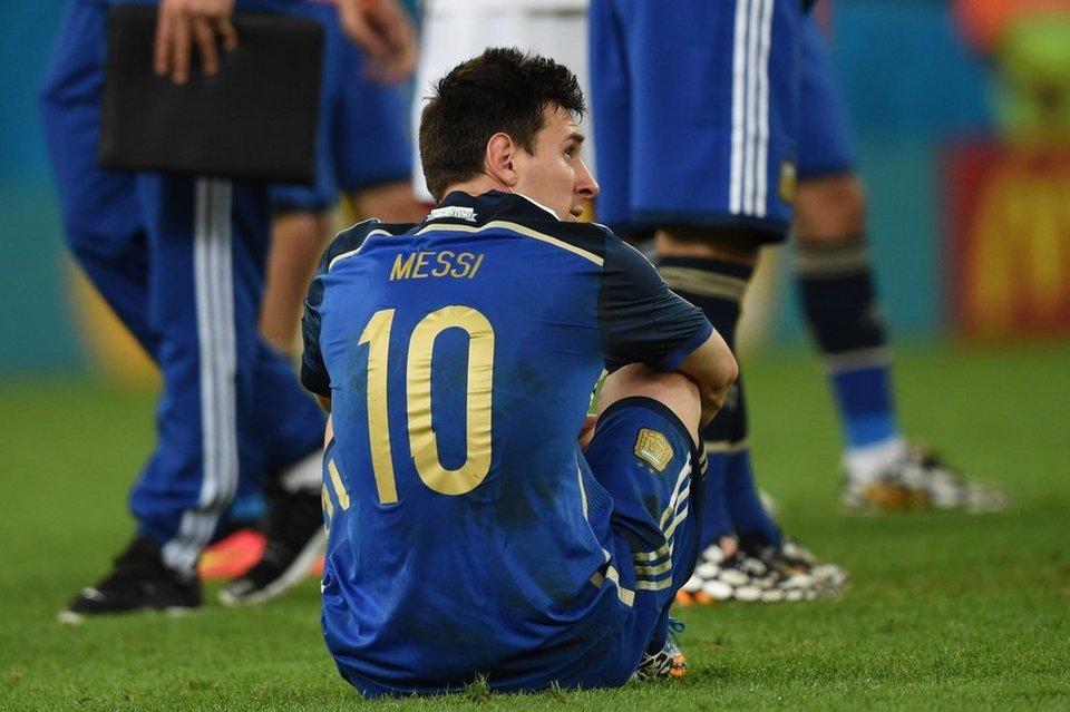 """Messi no siente la camiseta"""