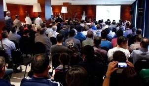 Encuentro de pe�as del Real Madrid en Coru�a