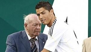 Cristiano Ronaldo y Don Alfredo Di St�fano
