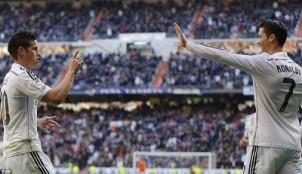 Cristiano Ronaldo y James