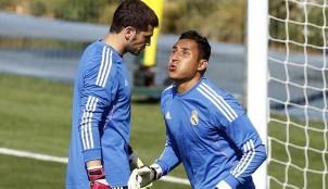 Keylor Navas y Casillas
