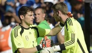 Iker Casillas y David De Gea