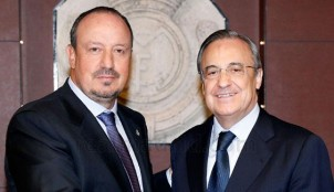 Rafa Ben�tez y Florentino P�rez