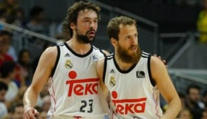 Sergio Llull y Sergio Rodr�guez