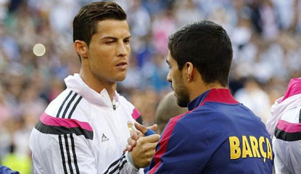 Cristiano Ronaldo y Luis Su�rez