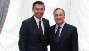 Josep Mar�a Bartomeu y Florentino P�rez