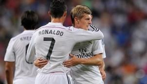 Kroos y Cristiano
