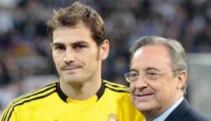 Florentino P�rez e Iker Casillas