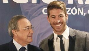 Sergio Ramos y Florentino P�rez