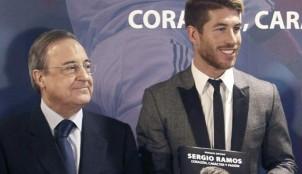 Florentino P�rez y Sergio Ramos