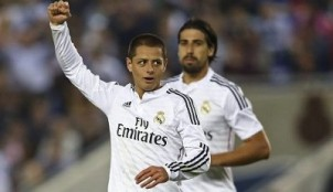 Chicharito y Khedira