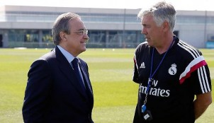 Florentino P�rez y Ancelotti