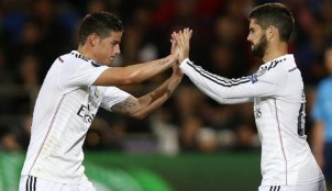 James e Isco Alarc�n