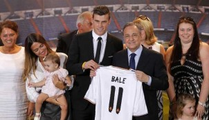Gareth Bale y Florentino P�rez