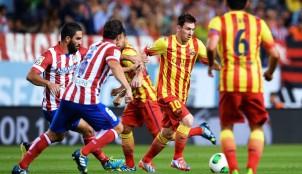 Messi ante el Atl�tico