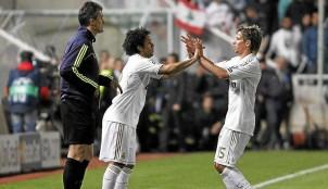 Marcelo y Coentrao