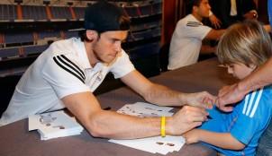 Gareth Bale y Lucas Silva