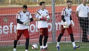 Casilla, Casillas y De Gea
