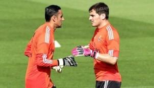 Keylor Navas e Iker Casillas