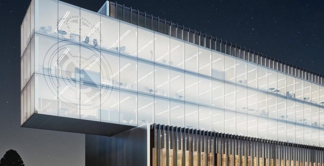 As ser n las nuevas nuevas oficinas en valdebebas for Telefono oficinas real madrid