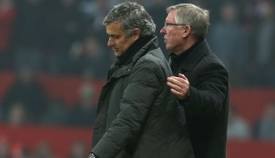 Jos� Mourinho y Ferguson