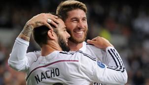 Sergio Ramos y Nacho Fern�ndez