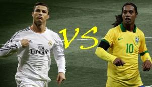 Cristiano y Ronaldinho