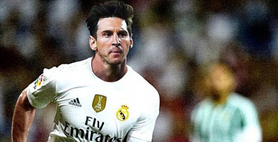Messi, Real Madrid, broma