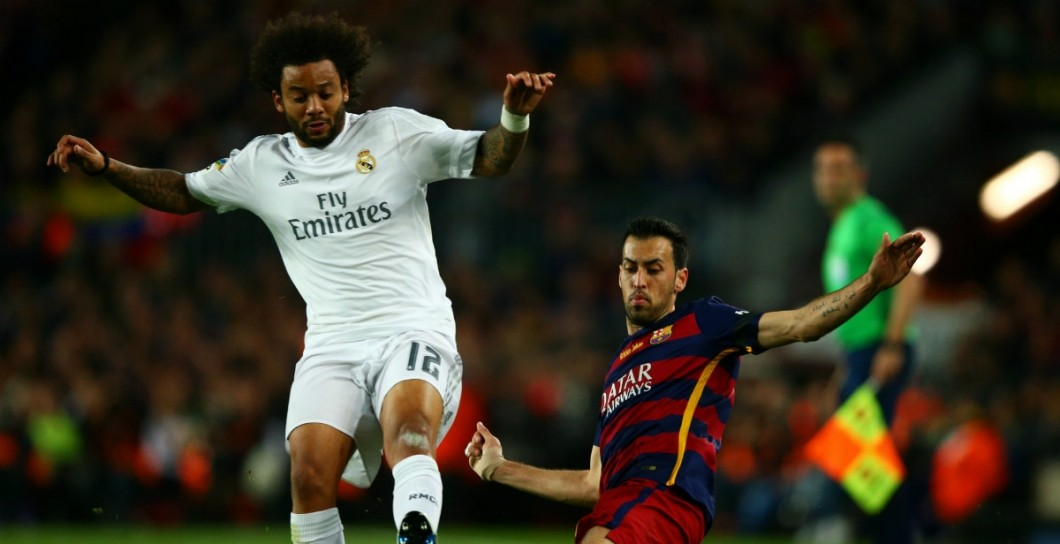 Marcelo, Barcelona, Real Madrid