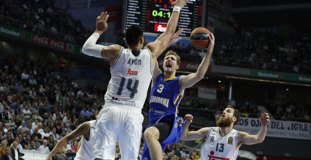 Real Madrid, Khimki, Euroliga