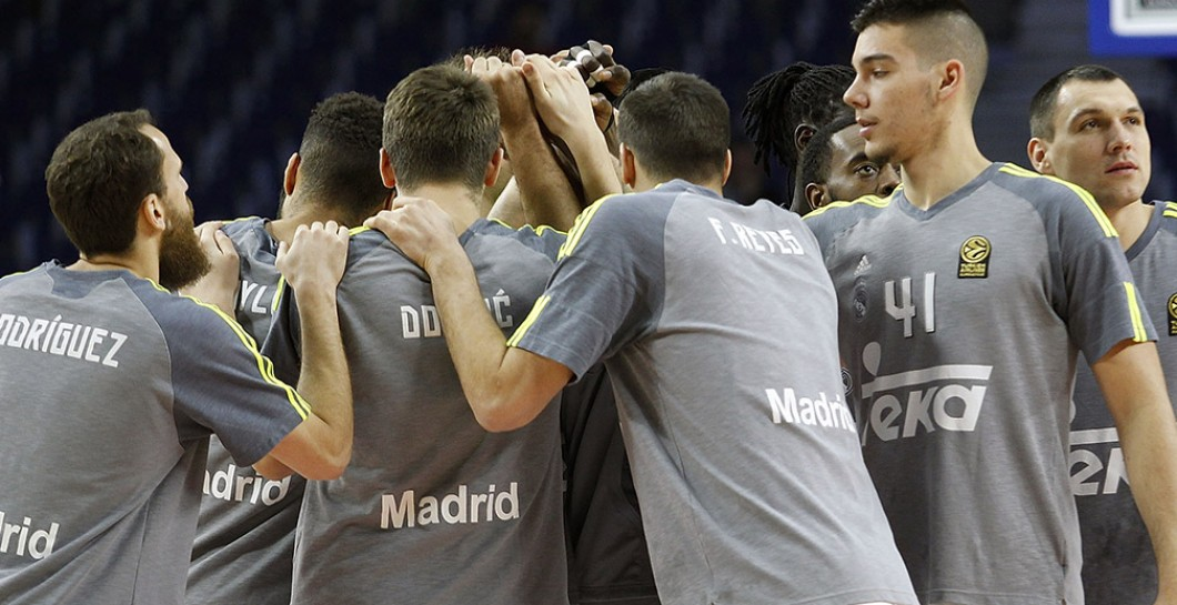Plantilla Real Madrid baloncesto
