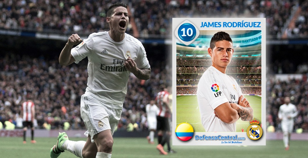 James Rodríguez, Cromo