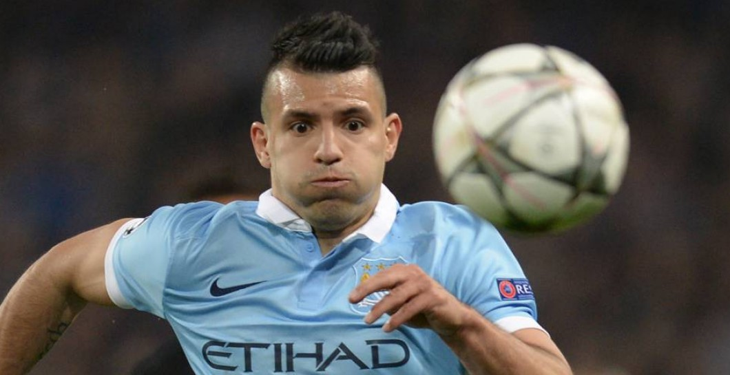 Aguero partido City