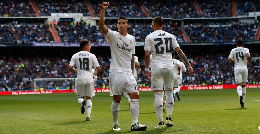 James, gol, Real Madrid, Eibar